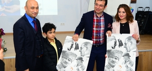 Başkan İmamoğlu'ndan sağlık kursiyerlerine moral ziyareti