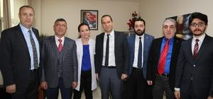 Niğde Belediye Başkanı Faruk Akdoğan'dan Hastane'ye kutlama ziyareti