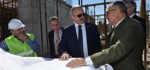 Vali Karaloğlu, Serik'te incelemelerde bulundu