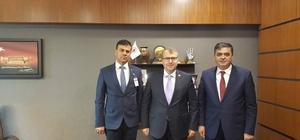 Başkan Yalçın'dan AK Parti Milletvekili Eldemir'e davet