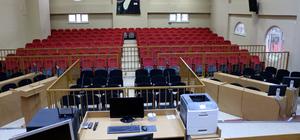 Aydın'da FETÖ davaları için 237 kişilik salon