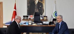 Murat Karayalçın Başkan Albayrak'ı ziyaret etti