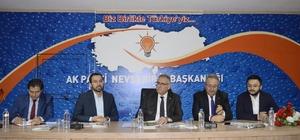 AK Parti Yerel Yönetimler Başkan Yardımcısı Yüksel, Nevşehir'de