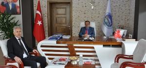 PTT Başmüdürü Türkyılmaz'dan Başkan Cabbar'a ziyaret