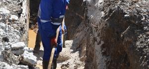Pütürge'nin içme suyu ve kanalizasyon hattının tamamı yenilendi