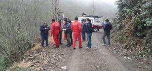 Rize'de kayıp kişinin cesedi bulundu