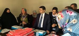 Kaymakamı Kırlı'dan aile destek merkezine ziyaret