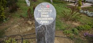 Şehit Ömer Halisdemir parkı hizmete girdi