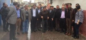 AK Parti Bağlar teşkilatı yağmur çamur dinlemiyor