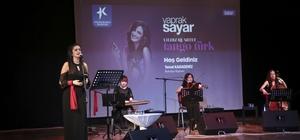 Yıldız Quartet Grubu, Türk tangolarını seslendirdi