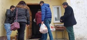 Yıldızeli'nde ihtiyaç sahibi aileleri gıda yardımı