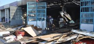 Aydın'da iş yeri yangını: 1 ölü