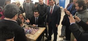 Hazro'da satranç turnuvası sona erdi