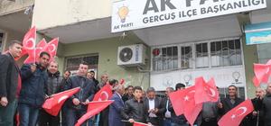 AK Parti Genel Başkan Yardımcısı Eker, Gercüş'te