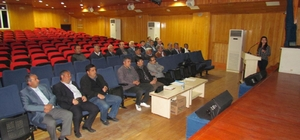 Sungurlu'da muhtarlara seminer