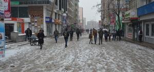 Ağrı'da kar yağışı ve sis