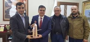 Bozüyük Karadenizliler Derneği'nden Başkan Yalçın'a ziyaret