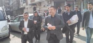 AK Parti Yenişehir ilçe teşkilatı referandum çalışmalarını sürdürüyor