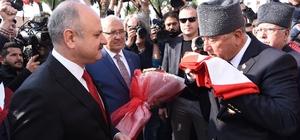 Atatürk'ün Mersin'e gelişinin 94. yıl dönümü coşkuyla kutlandı