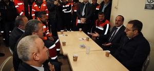 Başkan Duruay, Milletvekili Aydın ile referandum turunda