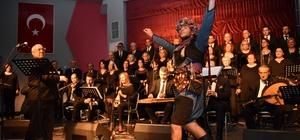 Yunusemre TSM korosundan duygulandıran konser