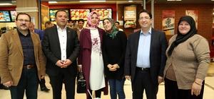 Başkan Yazgı ve AK Parti heyeti, esnaf ve vatandaşları ziyaret etti