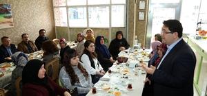 Başkan Yazgı, kadın esnaflarla halkoylaması hakkında istişare yaptı