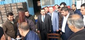 AK Parti Bağlar ilçe teşkilatı esnafla buluştu
