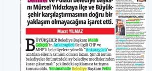 Gökçek'in 'Ankaragücü'ne yardım' önerisi