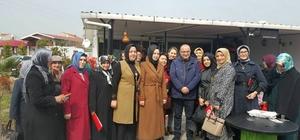 AK Partili Gider, referandum çalışmaları için Biga'da