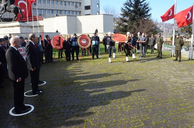 Zonguldak'ta Çanakkale Şehitleri anıldı
