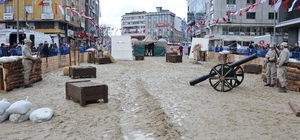 Çanakkale Savaşı, Gaziosmanpaşa Meydanı'nda yeniden canlandırıldı