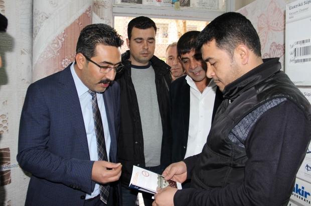 AK Parti Bağlar teşkilatından esnaf ziyareti