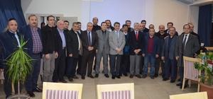 Kaymakam Özkan, bankaların şube müdürleriyle toplantı yapıldı