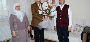 Başkan Bulutlar, şehit Metin Aydemir'in ailesini ziyaret etti
