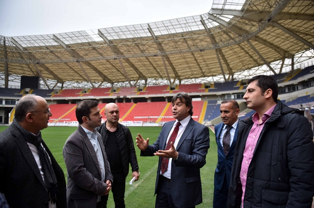 Spor gazetecileri, Akdeniz Oyunları tesislerini gezdi