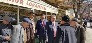 Başkan Yalçın ve Milletvekili Eldemir referandumu anlattı