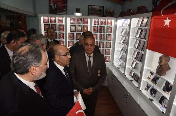 Vali Demirtaş'tan şehit aileleri derneklerine ziyaret