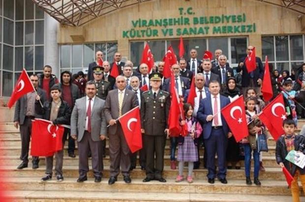 Viranşehir'de Çanakkale Şehitleri anıldı
