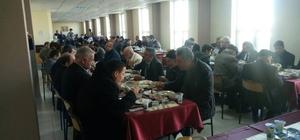 Altıntaş'ta şehit aileleri ve gazilere yemek