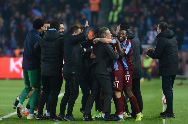 Trabzonspor-Galatasaray maçından notlar