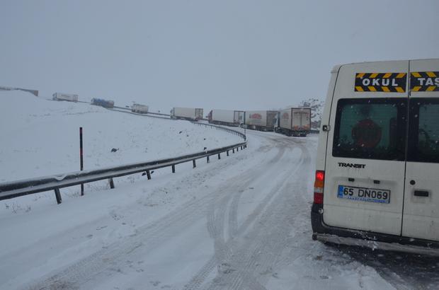 Doğu Anadolu'daki kar yağışı