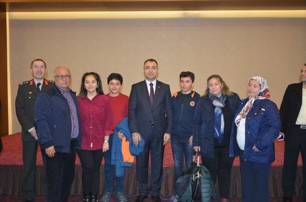 Vali Toprak şehit aileleri, gaziler ve gazi aileleri onuruna yemek verdi