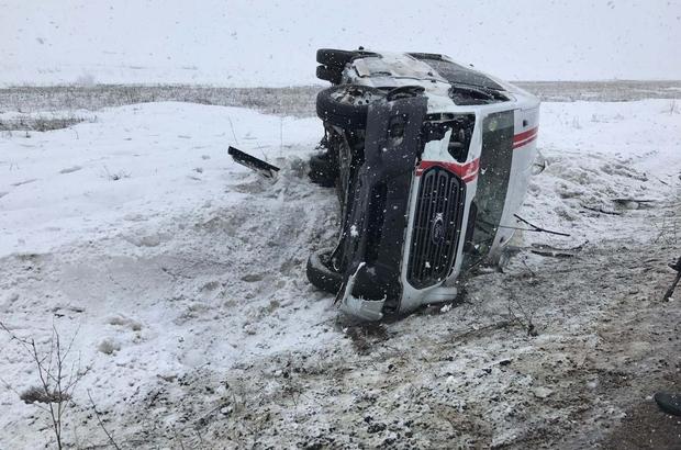 Ağrı bayan takımının kaza haberini alan Malatya bayan takımı yasa boğuldu