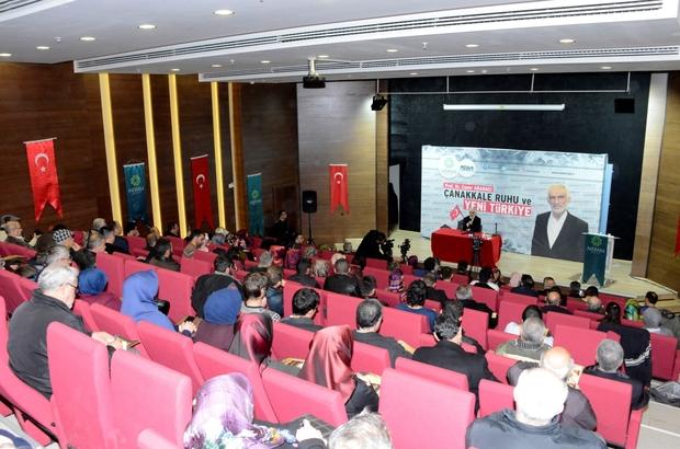 Meram'da 'Çanakkale Ruhu ve Yeni Türkiye' konferansı