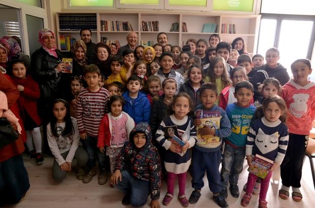 Fevzi Çakmak Belde Evi'nde kütüphane açıldı