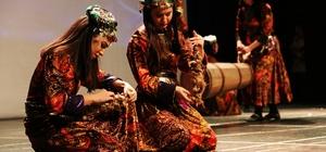 Çanakkale destanı danslarla anlatıldı