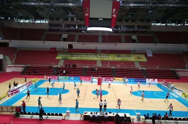 Spor ve Kongre Merkezi önemli maçlara ev sahipliği yaptı