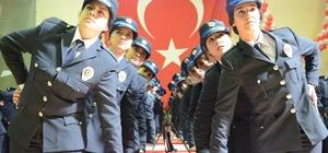 Aksaray'da 761 polis mesleğe ilk adımını attı