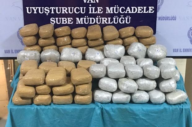 Van'da uyuşturucu operasyonu